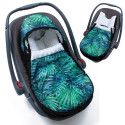 Universal and waterproof footmuff for stroller and car seat - Urban Collection - Tropicosy