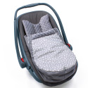 Universal and waterproof footmuff for stroller and car seat - Urban Collection - Twinkle