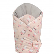 Reversible swaddle sleeping bag - Ballerina