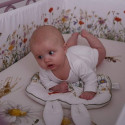 Baby pillow - Rabbit shaped children's cushion with ears - Vintage