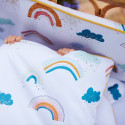 Ready to sleep 2 in 1 children's duvet and pillow - Premium bed linen - Arc en Ciel