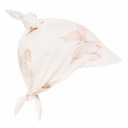 Bandana cap - Baby bamboo scarf with visor - Butterfly