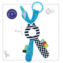 Hanging activity toy - rattle for the stroller or car seat