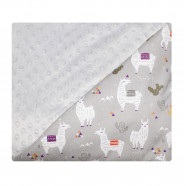 Minky baby blanket - incredibly soft - Lama