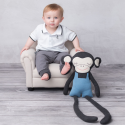 Handmade organic cotton plush - Monkey