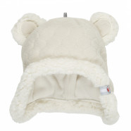 Fleece hat - teddy bear