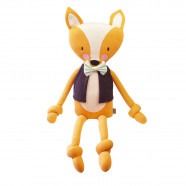 Handcrafted organic cotton plush - Fox