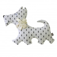 Handmade Knit Plush - Scotty Dog