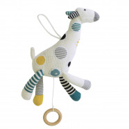 Cotton Knit Musical Night Light - Giraffe