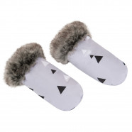 Stroller mittens - warm and waterproof hand guards Tangram