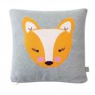 Organic cotton baby blanket - Fox