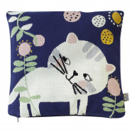 Organic cotton cushion cover - Kitten