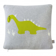 Organic cotton cushion cover - Dino