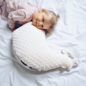 Nursing pillow - extra soft minky baby pillow - Maman Poule - Forest