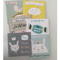 """Photo cards - souvenir cards - """"My first year"""", Girl"""