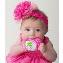Silicone teething mittens