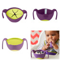 Children's bowl 3 in 1 - Children's bowl with straw and snack cover - B-box