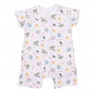 Organic cotton playsuit, Coconut