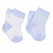 Pack of 2 pairs - Organic cotton baby socks - Dreams