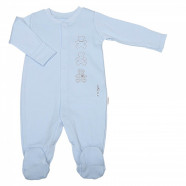 Organic cotton baby pajamas, BASIC