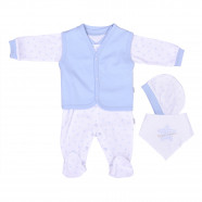 Organic cotton birth kit - Baby clothes 4 pieces - Dreams Collection