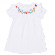 Dress with organic cotton bandeau, ELISE