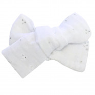 Large anti-slip bar with crocodile clip - Double gauze cotton muslin