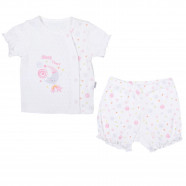 Ensemble t-shirt et short bébé en coton bio, Dreams