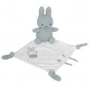 Miffy rabbit flat comforter - almond green knit
