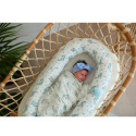 Quilted baby cocoon - bed reducer nest, MOBY