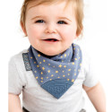 Bandana bib with teething tip, Stella