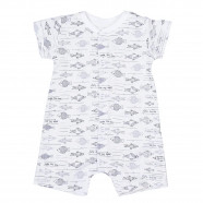 Organic cotton playsuit, Ocean