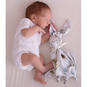 Flat comforter - swaddle - bamboo - Rabbit - Butterfly