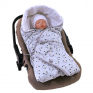 Reversible and multi-use wrap blanket, MIAOU