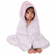 Bathrobe Extra Large 100x100 hooded bathrobe FIND ME Pink