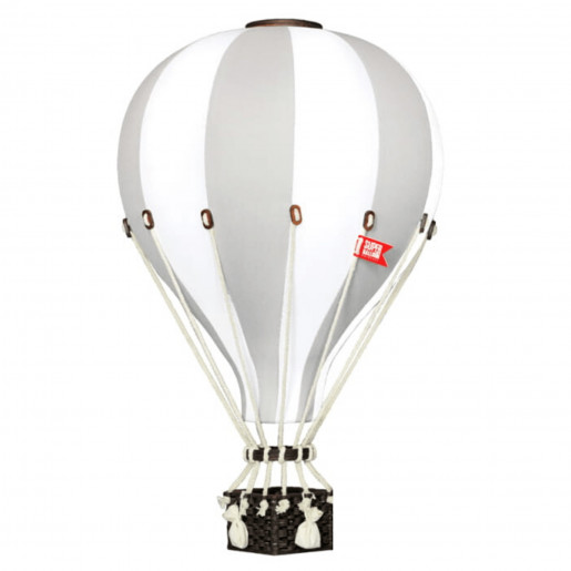 Decorative hot air balloon - nursery decoration - Light Gray