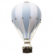 Decorative hot air balloon - nursery decoration - Light Blue