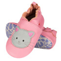 Soft leather baby slippers, KITTEN