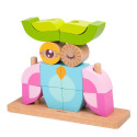 Baby toy - Vertical wooden puzzle - Owl Owl