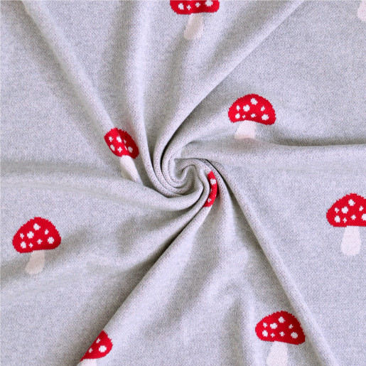 Baby blanket in organic cotton - Champi