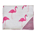 Lightweight organic cotton baby blanket - Flammants