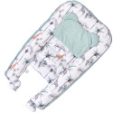 Quilted baby cocoon - bed reducer nest, EVEREST