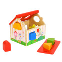 Baby toy - Vertical wooden puzzle - Lion