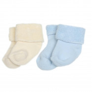 Organic cotton baby socks (set of 2 pairs)