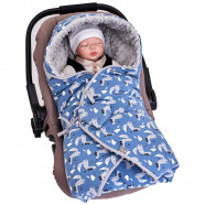 Reversible and multipurpose wrap blanket, SUPER LOUP
