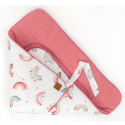 Fleece Swaddle Sleeping Bag - Vintage
