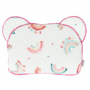 Extra flat baby pillow, ARC-EN-CIEL