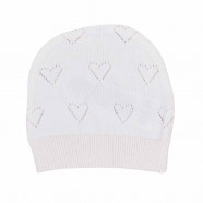 Lined organic cotton knit hat - LOAN