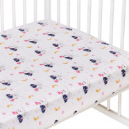 Baby cotton fitted sheet, FAIRY