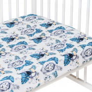 Baby cotton fitted sheet, SAVANA
